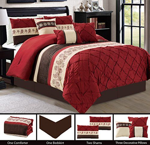 Brown And Red Bedroom Ideas