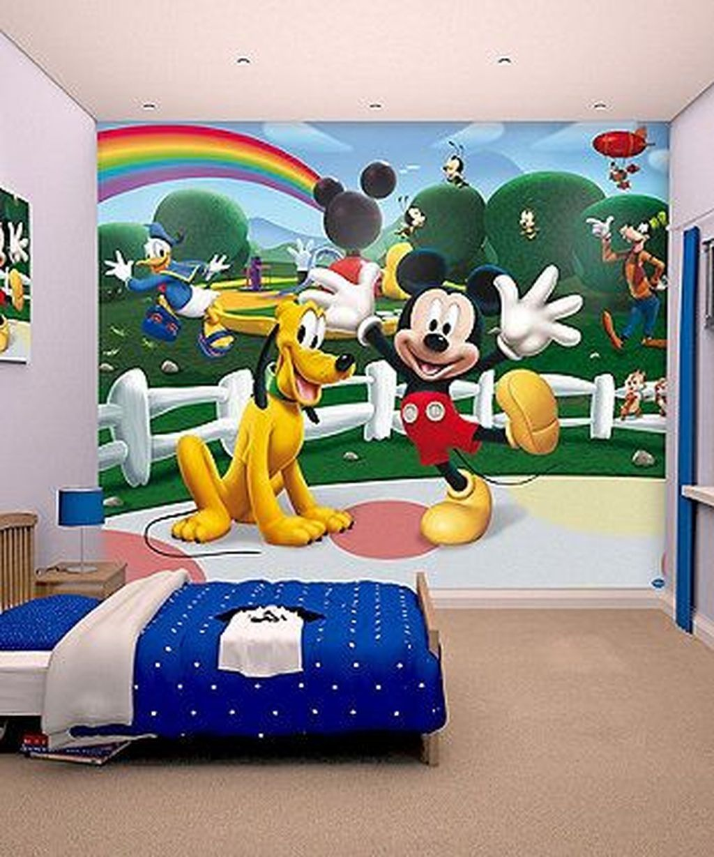 46 Stunning Disney Bedroom Designs Ideas For Your Children | Bedroom ...