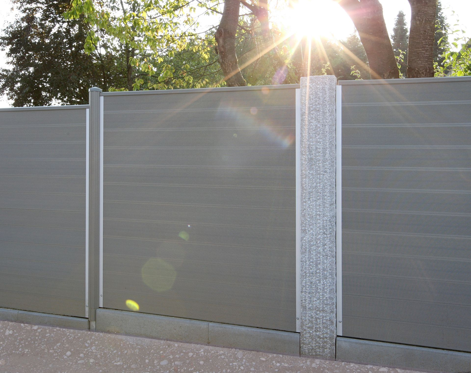 fencing options wpc weather resistant composite wooden