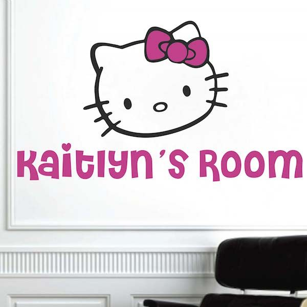 Hello Kitty Wall Decal Part 39