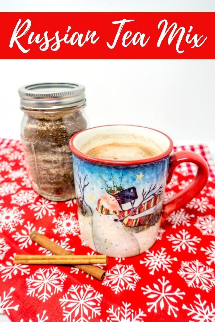 Spiced Russian Tea Mix Recipe - I Believe I Can Fry #cuppatea