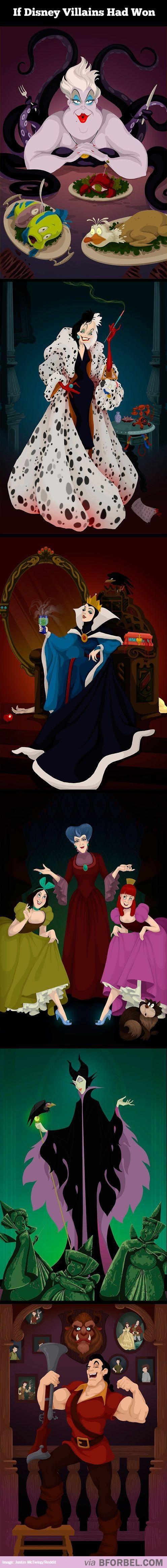 6 Disney Villains Getting Their Happy Ending…
