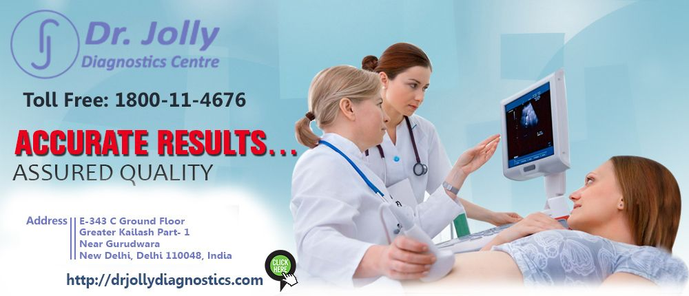 Dr. Jolly is a specialist, for 3d 4d ultrasound in GK