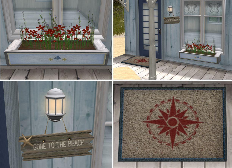 Nautical Porch Decor. Love The Door Mat