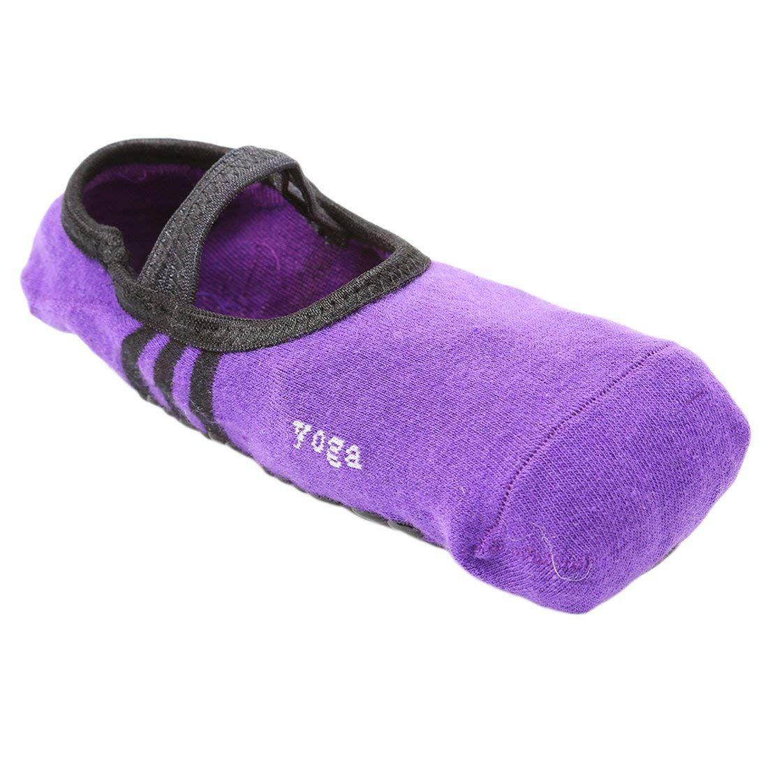 Sports Yoga Socks Slipper Anti Slip Massage Ballet Pilates Socks Professional UK