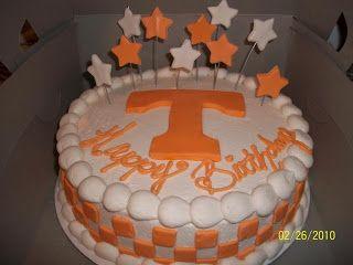 de84817e1ee249b9aef194a0ab00b7c4 tennessee vols birthday cake sandy's sweet cakes tennessee vols