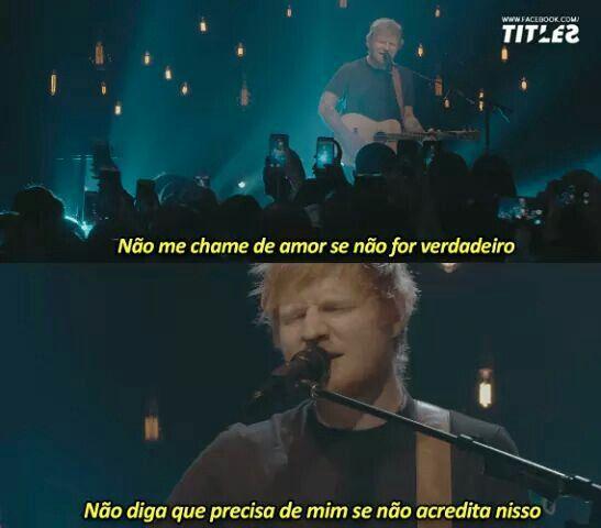 Trechos De Músicas Ed Sheeran Trechos De Musicas Tristes