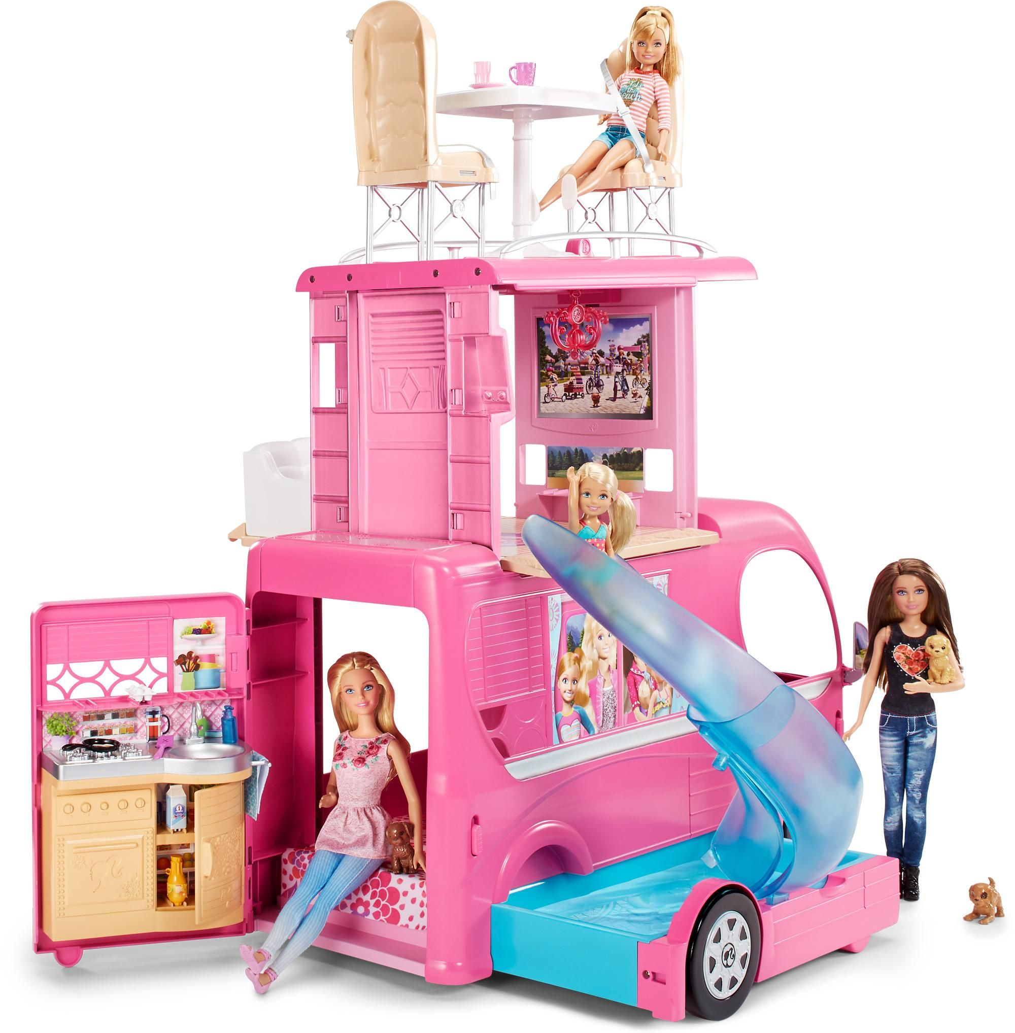 Barbie deluxe furniture stovetop to tabletop kitchen doll target - Dolls