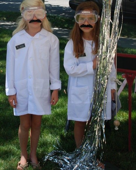 Lab coats & safety goggles