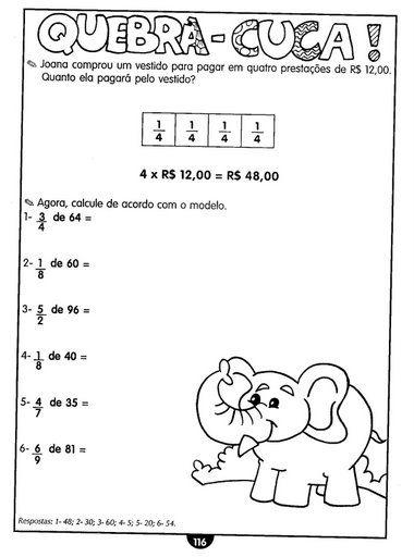 120 Atividades De Matematica Para 3º 4º E 5º Anos Atividades