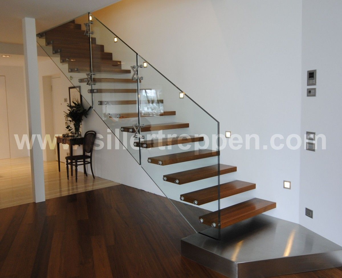 Google image result for for Modern wood stairs
