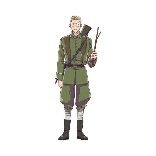 FUNimation Liked On Polyvore Featuring Hetalia Anime Aph Germany Characters And