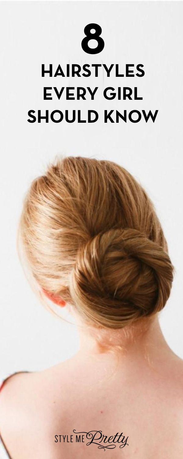 8 hairstyles every should know bridal hairstyle