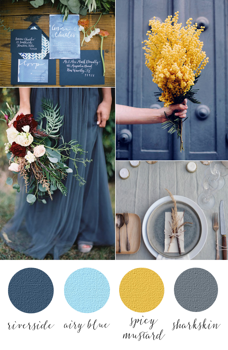 Pantone fall 2016 Riverside airy blue spice mustard