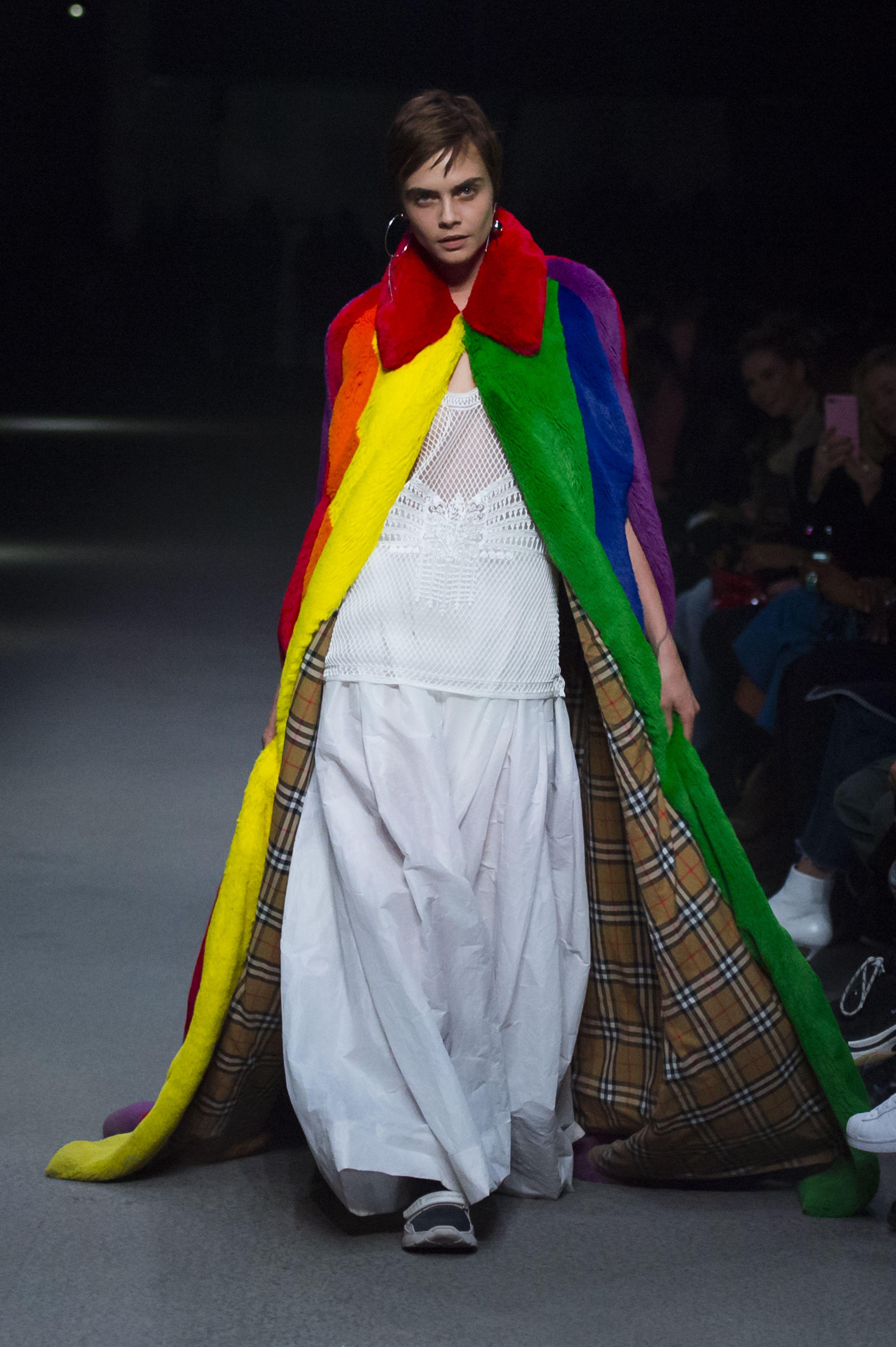 London Fashion Week: Burberry Show