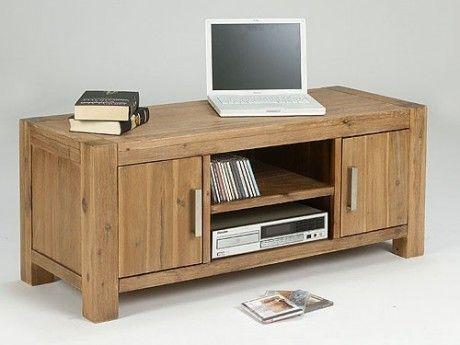 tv unterschrank 2 t rig arena akazie massiv holz low board tv fernsehtisch akazien holz m bel. Black Bedroom Furniture Sets. Home Design Ideas