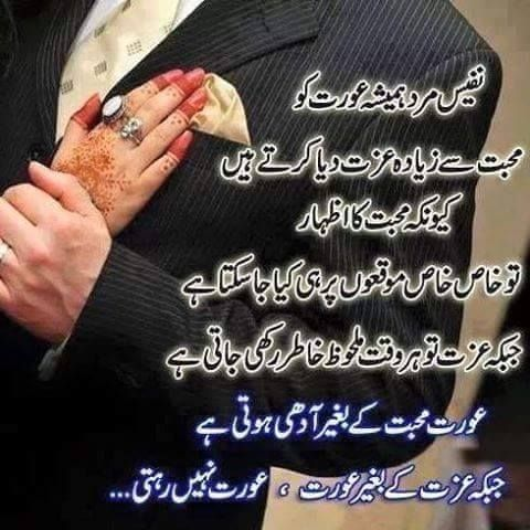 Husband Wife | Quotes In Urdu | - 44.1KB