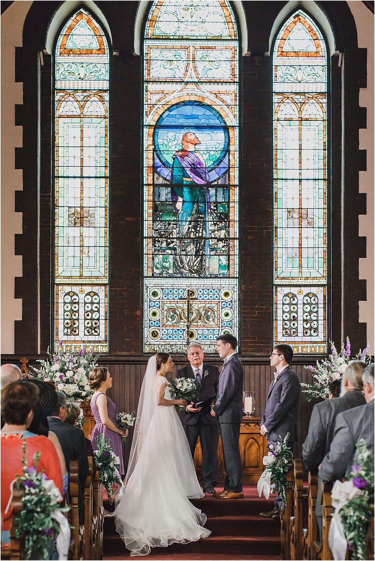 Stunning Uva Chapel Wedding In Purple Hues Best Of Bridal
