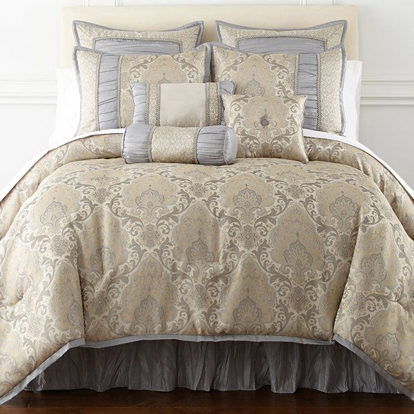 Home Expressions Kingston 7 Pc Comforter Set Jcpenney
