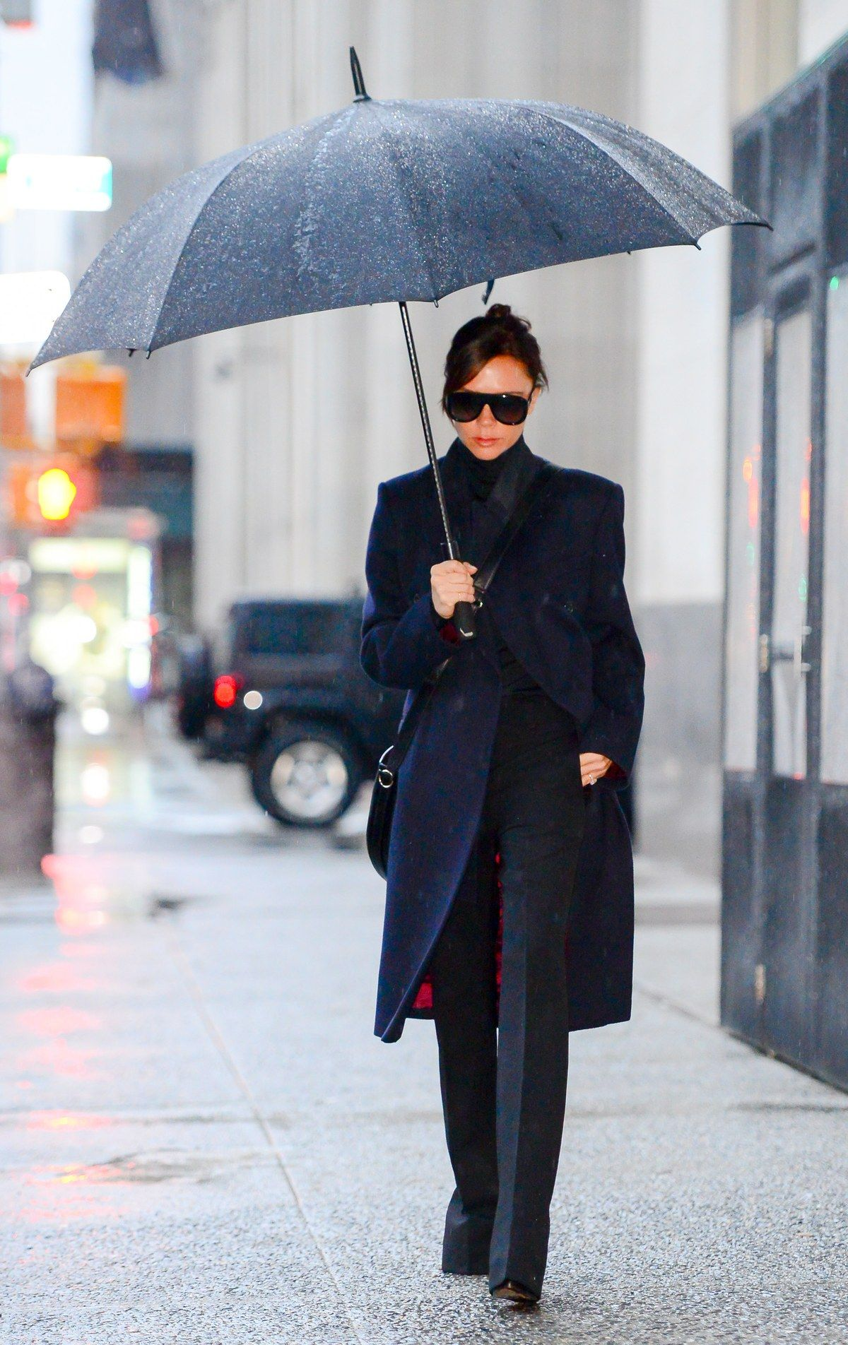 These 12 Rainy-Day Outfit Ideas Prove That Style Is 100-Percent Waterproof #rainydayoutfitforwork