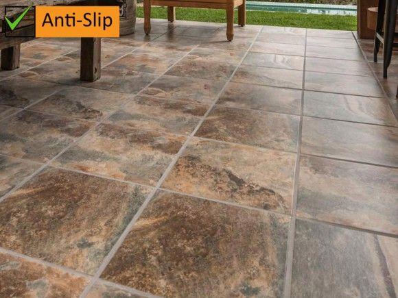 Kenya Anti Slip Kilimanjaro Tile Ctm Garden Hardware
