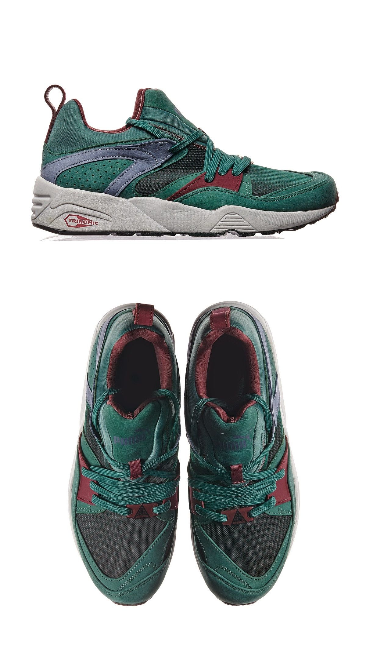 d7076a00594572 Puma Trinomic Blaze Of Glory  Crackle Pack   Green Adidas Shoes Outlet