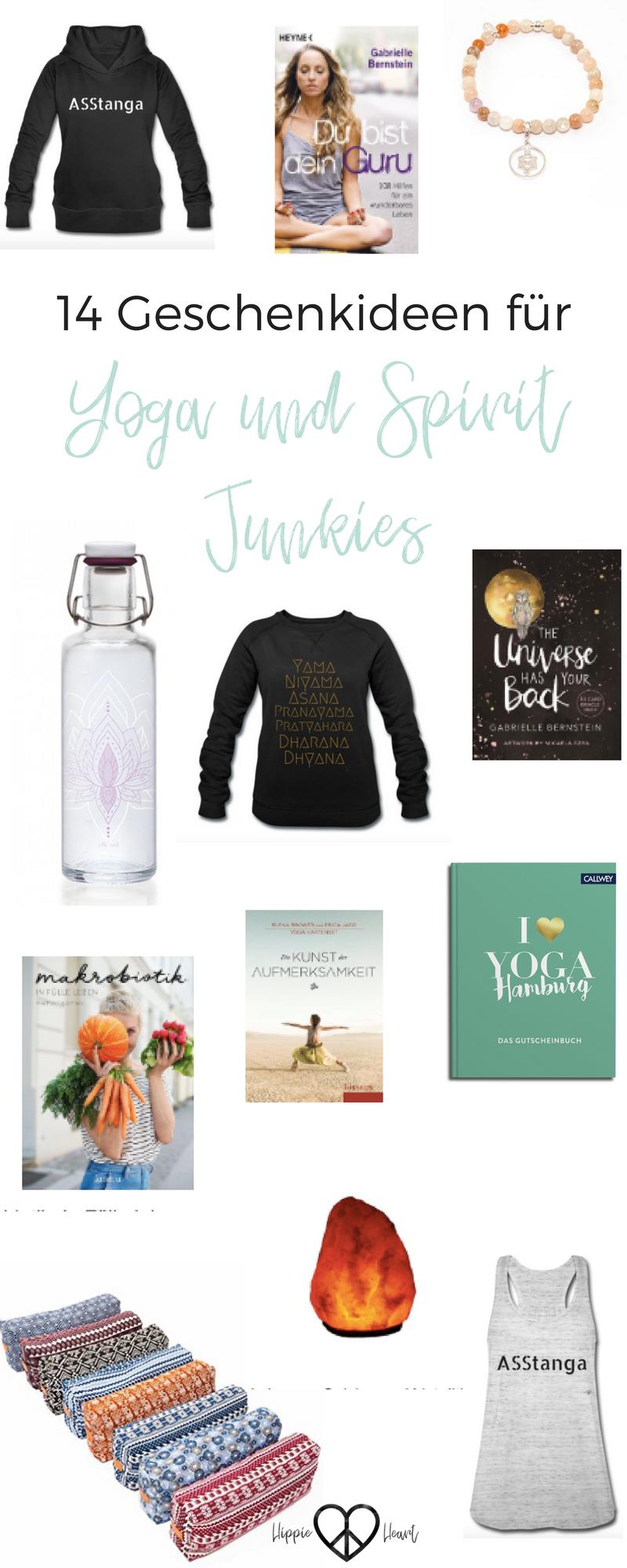 10 plus Geschenkideen für Yoga und Spirit Junkies + Verlosung ...