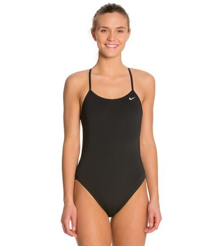 d24a1d462db1 Nike Swim Polyester Cut-Out Tank Swimsuit