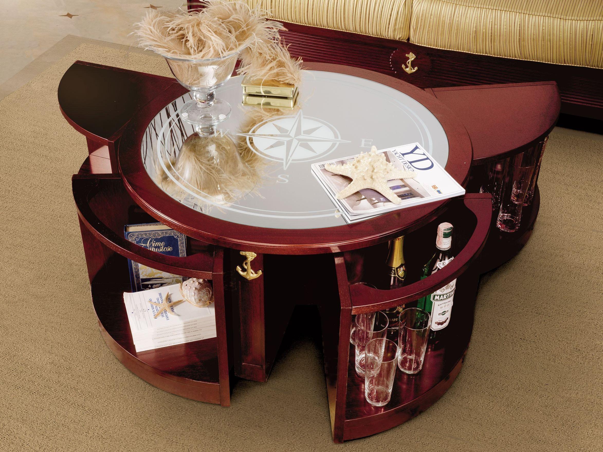 Centro de Sala Stylish coffee table, Round coffee table