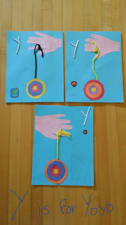Y Is For Yoyo Preschool Letter Crafts Letter A Crafts Letter