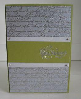 stampin with beemybear: Kartenvorschläge für Kommunion/Konfirmation