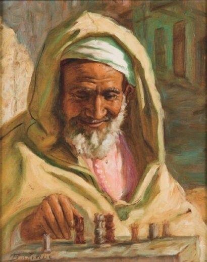 La culture algérienne by Mohammed Khadda. | Les arts, Art classique, Portrait dessin