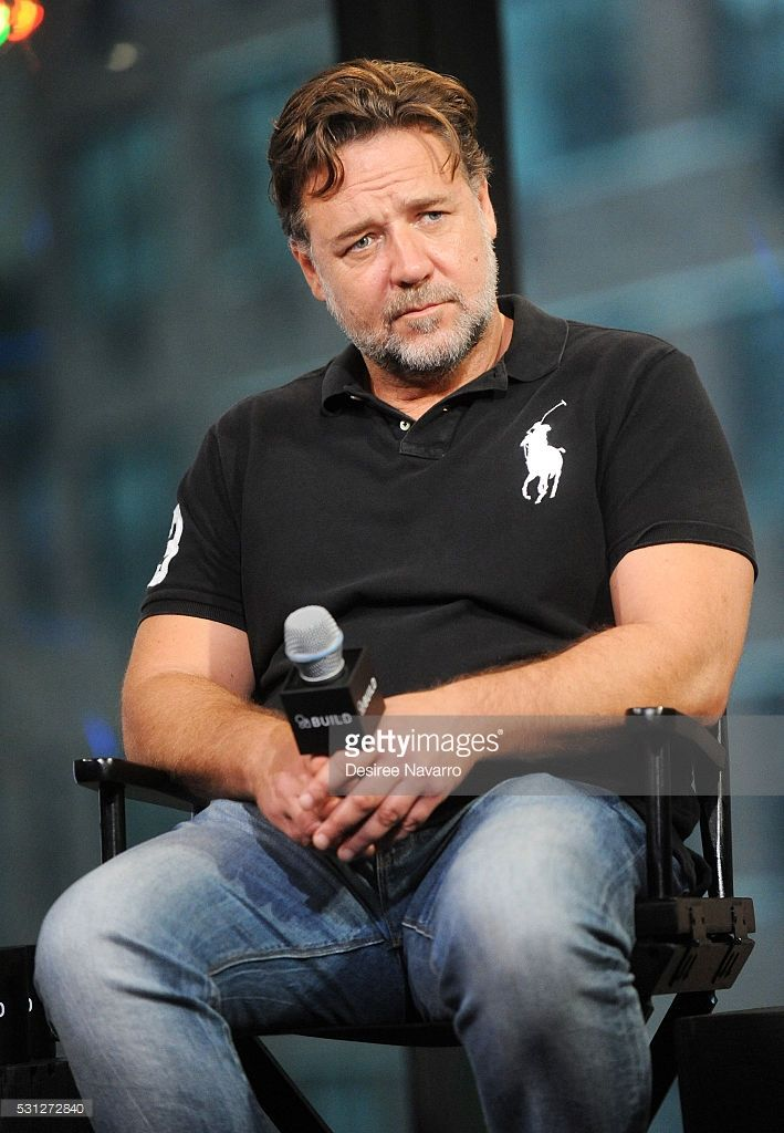 Actor Russell Crowe at...