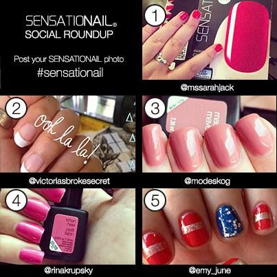 Sensationailsocialroundup manicure sensationail sensationail gel nail polish up to 2 weeks of dazzling damage proof nails do it yourself manicure from home the at home diy gel polish brand solutioingenieria Image collections