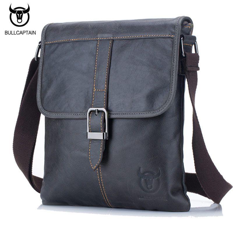 US Men/'s Soft Leather Messenger Bags Shoulder Briefcase Bag Crossbody Handbag