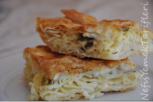 Makarna Böreği - Nefis Yemek Tarifleri http://www ...