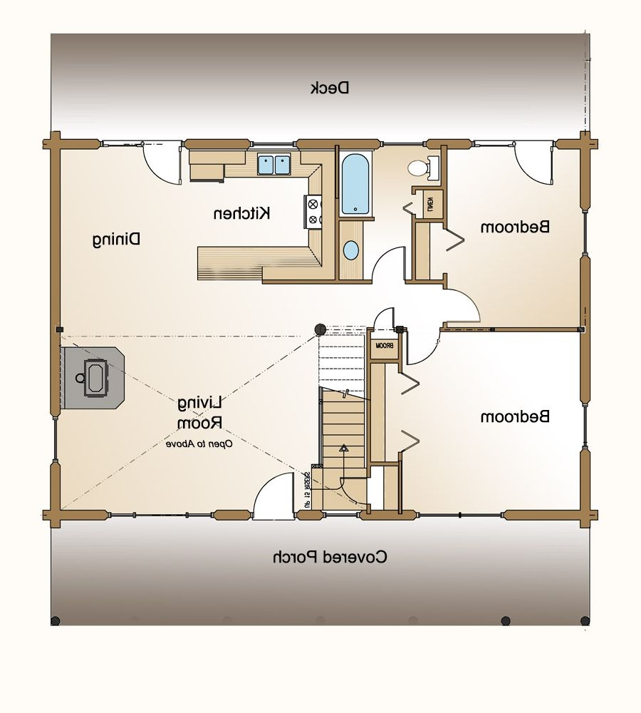 Guest House Floor Plan Also Small Backyard Plans