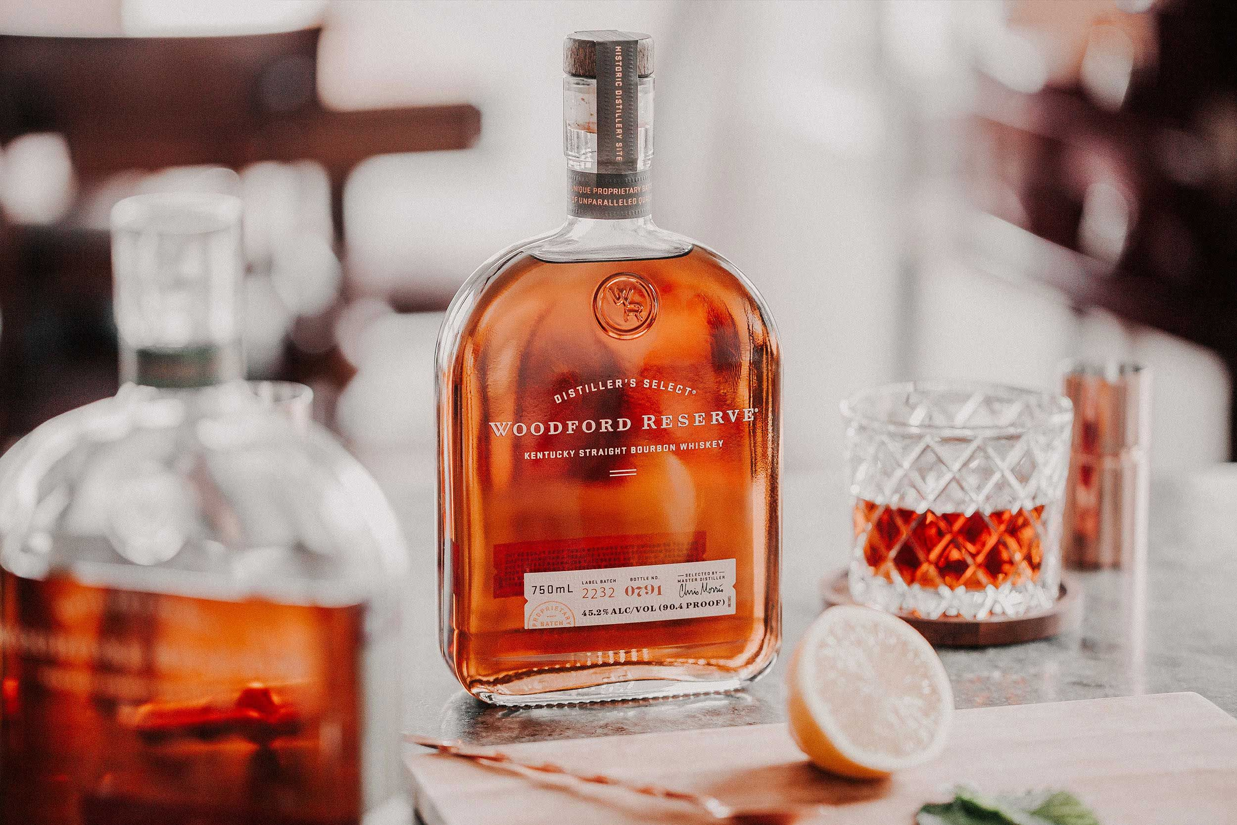Graphic Inspiration Woodford Reserve Whiskey Packaging Woodford