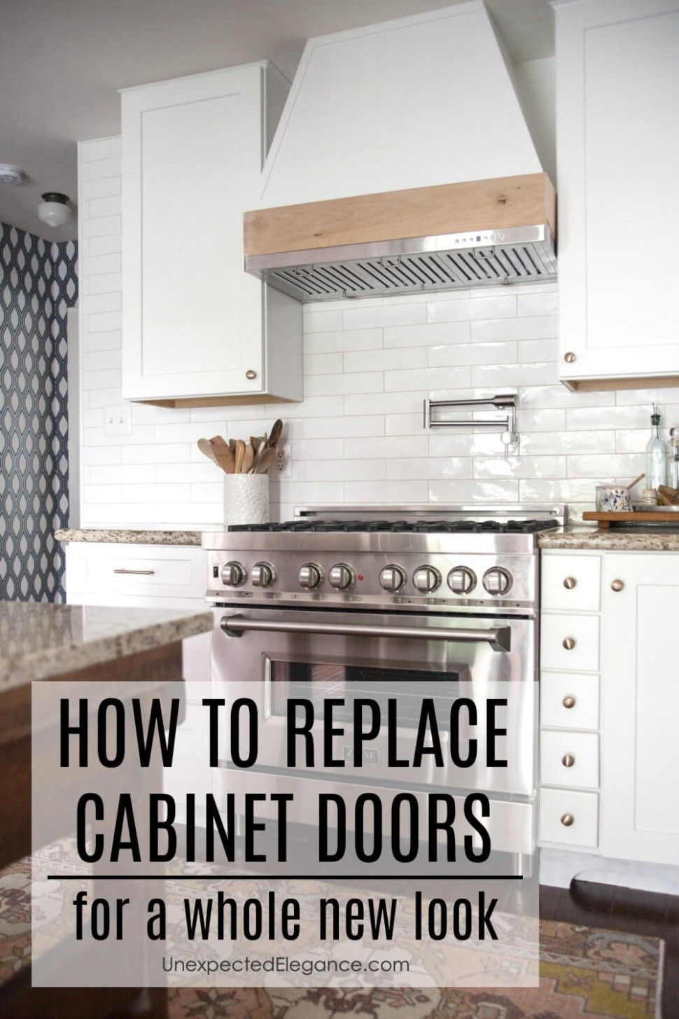 Chaging Doors But Not Kitchen Cabinets
