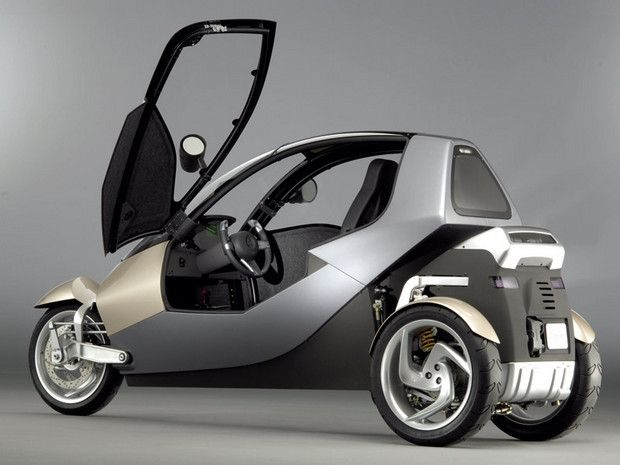 Enclosed Scooters and Mopeds | ... | Trike Blog - 3 Wheel Motorcycles, Trikes, and Three Wheel Scooters