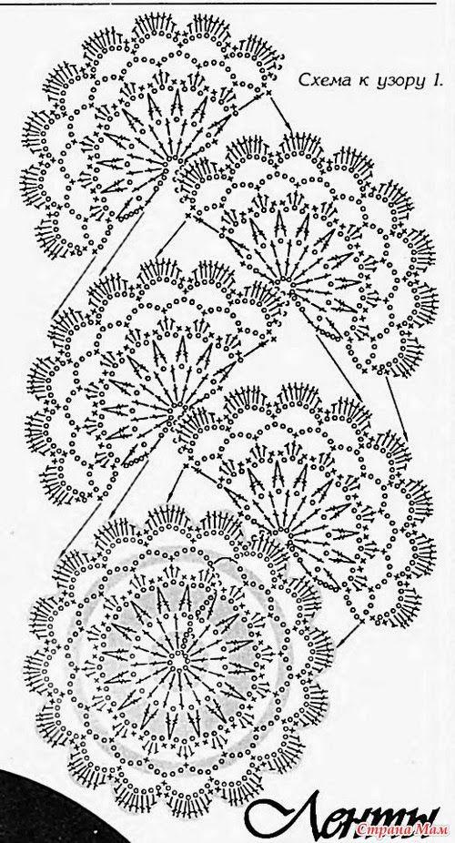 Moda en crochet y punto/Crochet and knitting fashion   Puntillas y ...