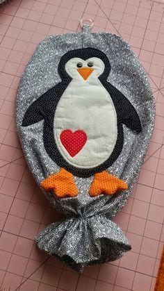 Ponto Cruz da Márcia: Puxa saco pinguim