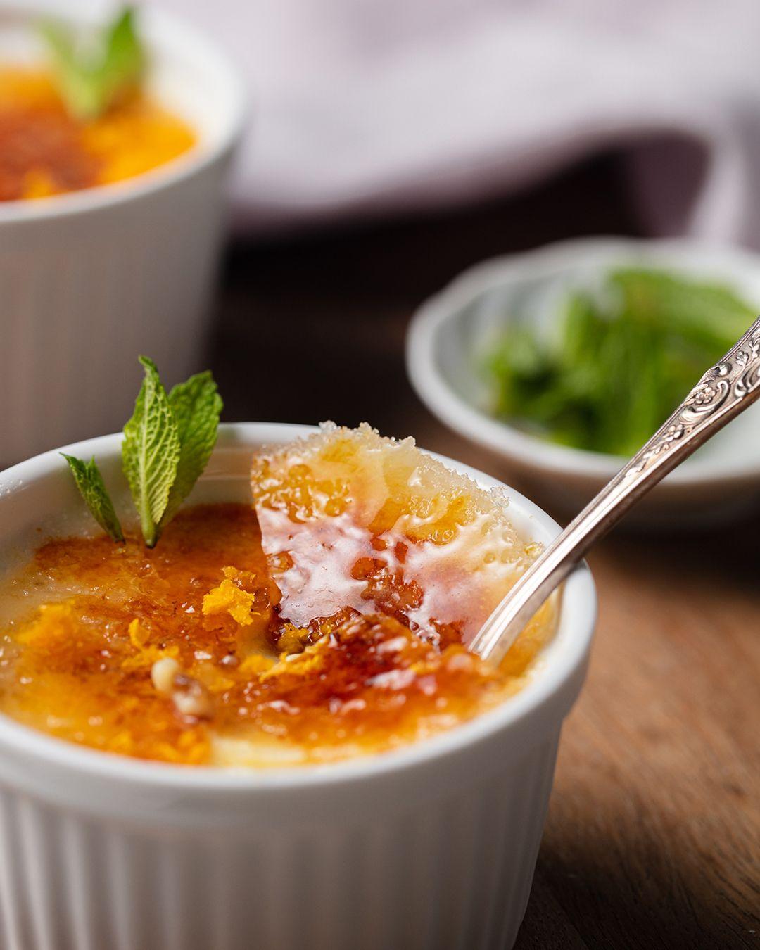 Bitter Orange Crème Brûlée (With images) - Bitter orange..