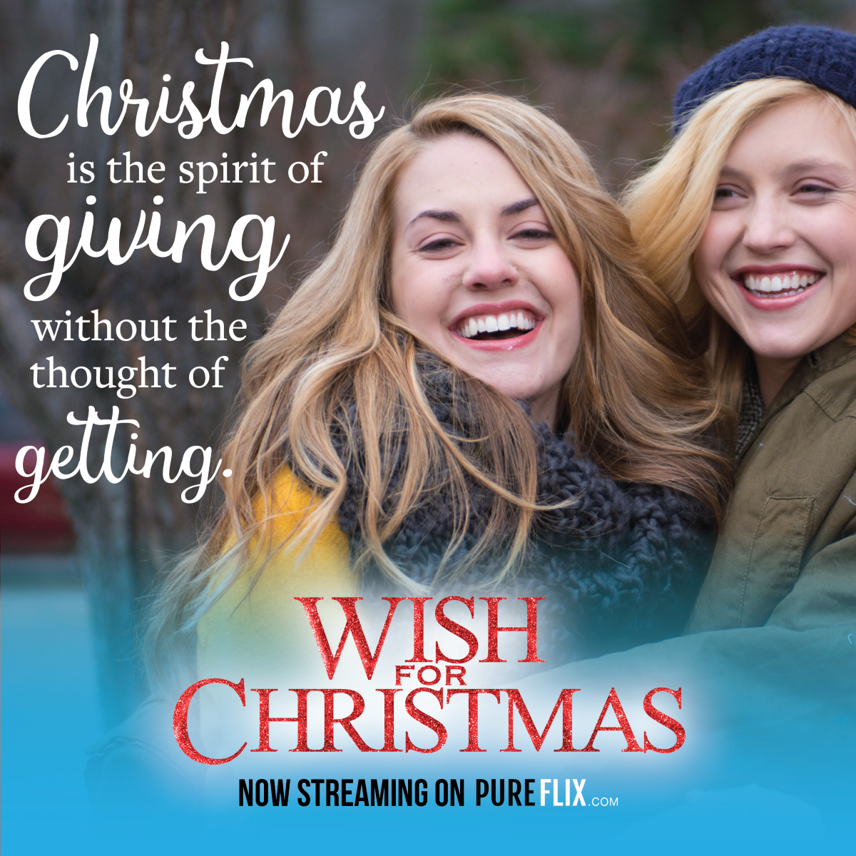 Check Out Wish For Christmas Now On Pure Flix Http Hubs Ly H05xhbh0 Christmas Wishes Christmas Trailer Holiday Party Gift