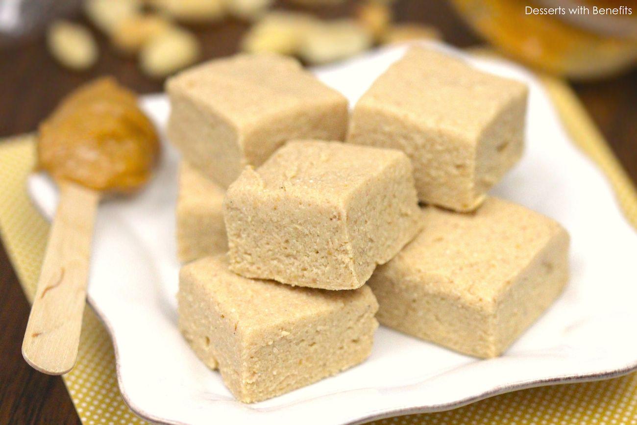 Delicious Low Sugar Cake Recipes: Healthy Peanut Butter Fudge