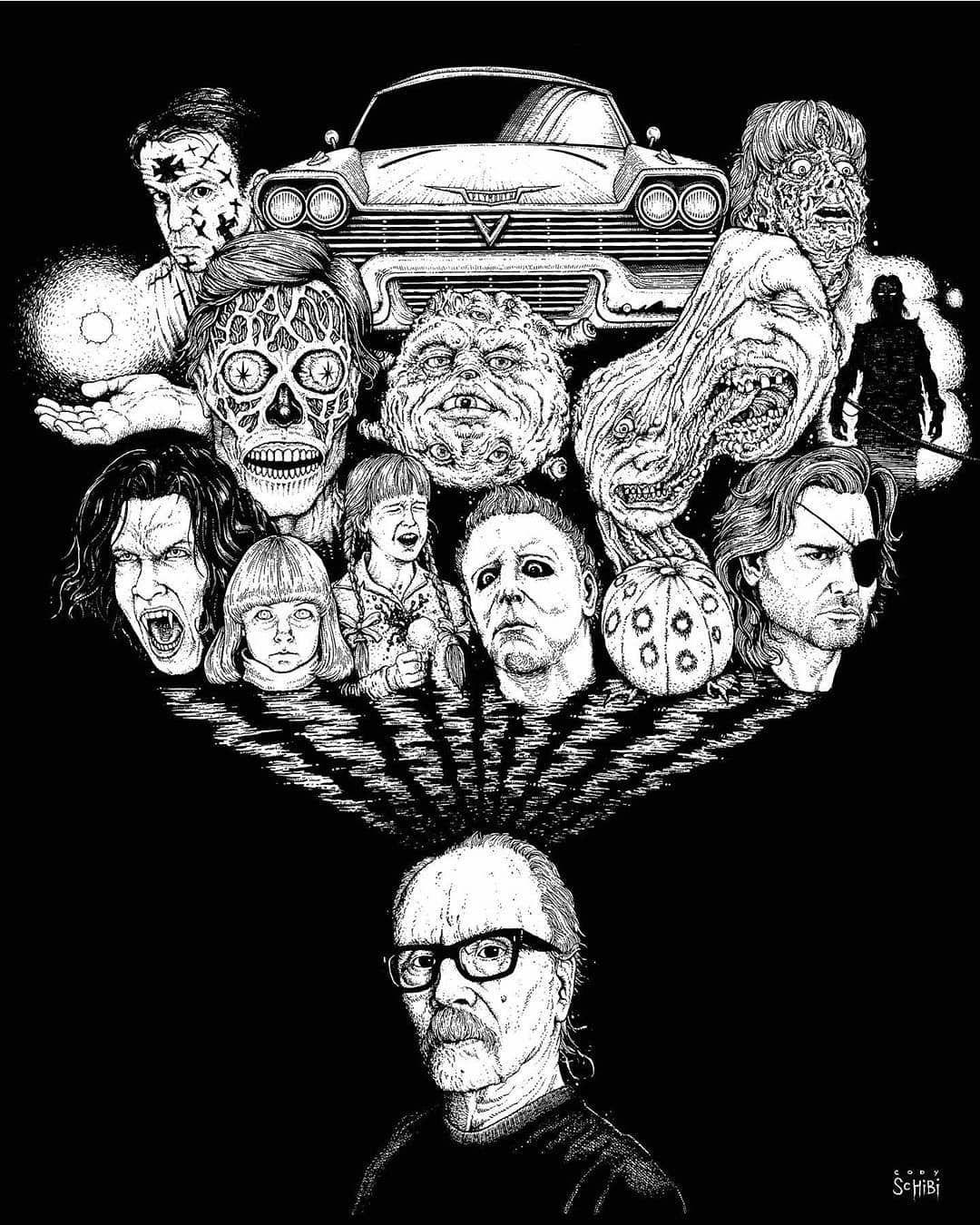 Cody Schibi in 2020 Movie art, Halloween film, Horror art