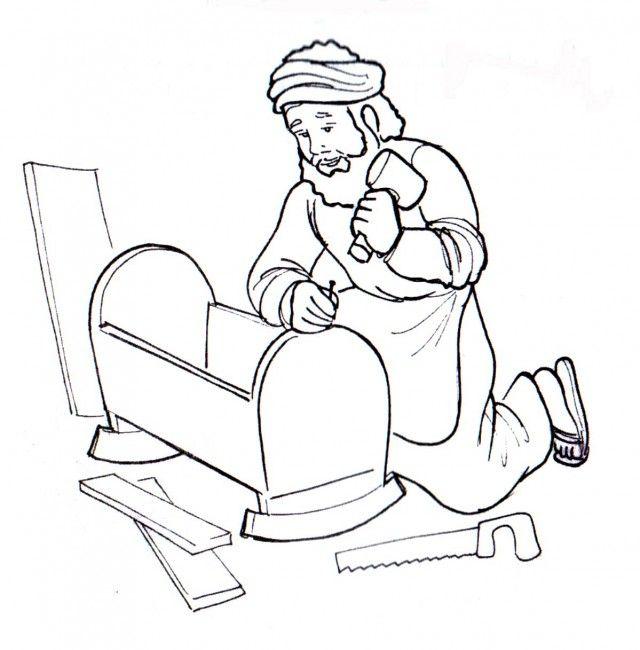 Resultado de imagen para dibujos para colorear san jose carpintero ...