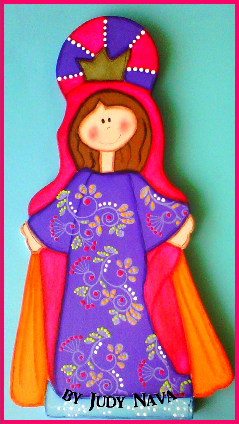 Virgencita en madera