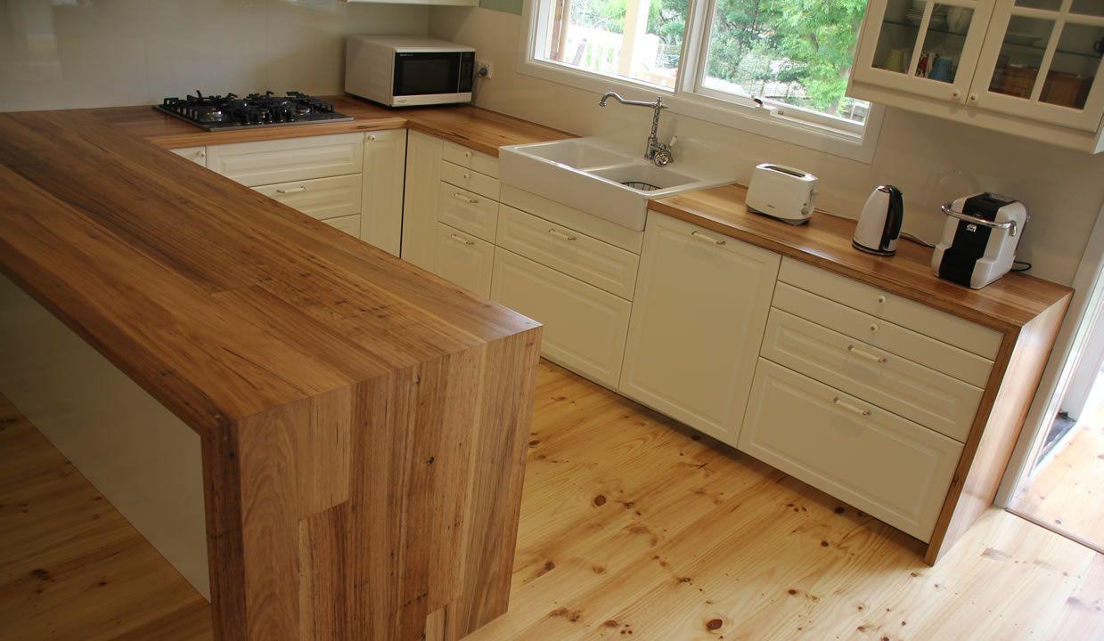 Image Result For Timber Slab Kitchen Benchtops