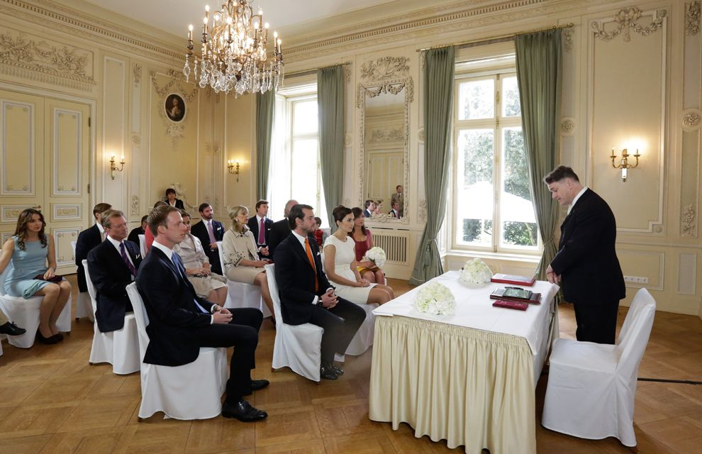Civil Wedding Of Claire Lademacher And Prince Felix Luxembourg 9 17 2013